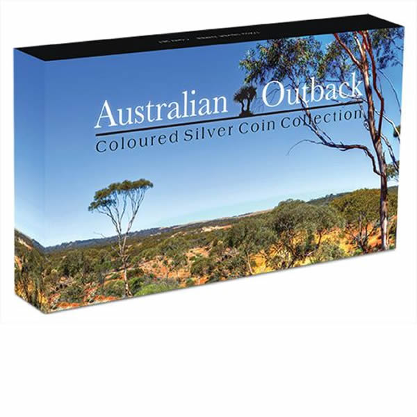 Thumbnail for 2014 Half oz Silver Coloured Three Coin Collection - Australian Outback