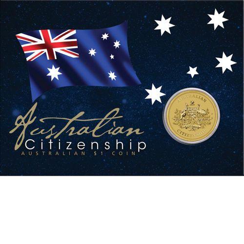 Thumbnail for 2014 Australian Citizenship Uncirculated Dollar