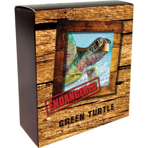 Thumbnail for 2014 Tuvalu Endangered Series - Green Turtle