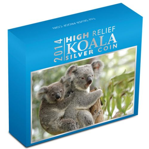 Thumbnail for 2014 1oz Silver Koala High Relief.