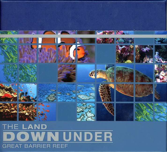 Thumbnail for 2014 The Land Down Under 1oz Silver Proof - Great Barrier Reef