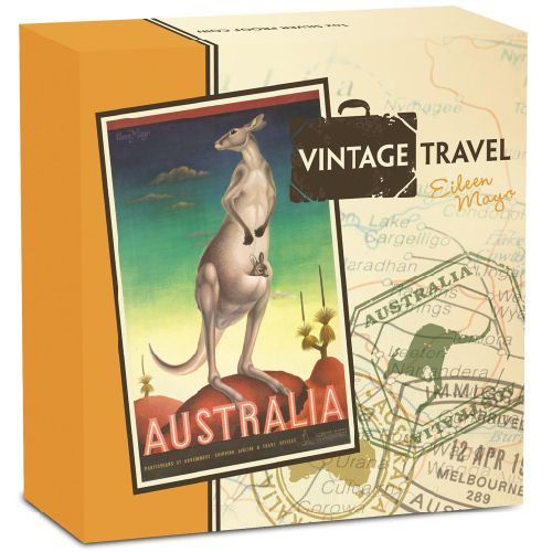 Thumbnail for 2014 1oz Coloured Silver Proof - Vintage Travel