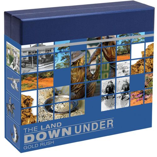 Thumbnail for 2014 The Land Down Under 1oz Silver Proof - Gold Rush
