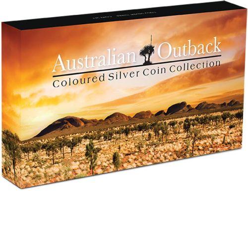 Thumbnail for 2015 Half oz Coloured Three Coin Set - Australian Outback