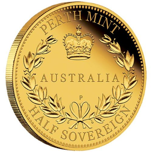Thumbnail for 2015 Australian Perth Mint Proof Gold Half Sovereign