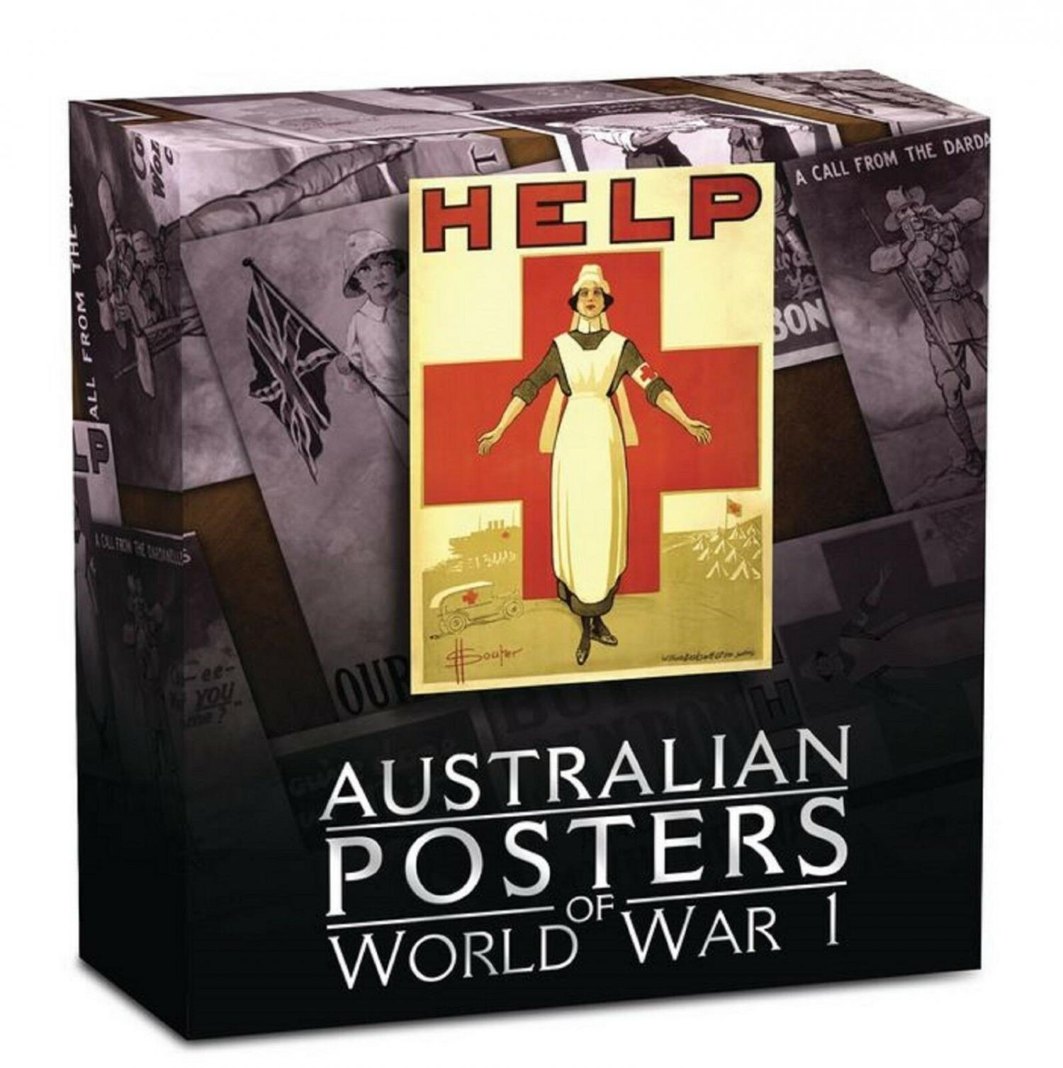 Thumbnail for 2015 1oz Silver Proof Rectangular Coin - Australian Posters of WWI
