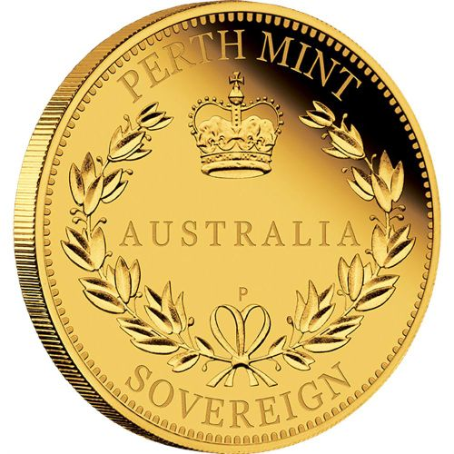 Thumbnail for 2015 Australian Perth Mint Proof Gold Sovereign
