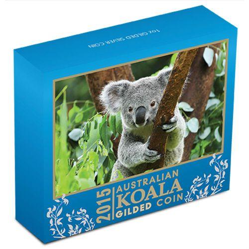 Thumbnail for 2015   1oz Silver Gilded Koala