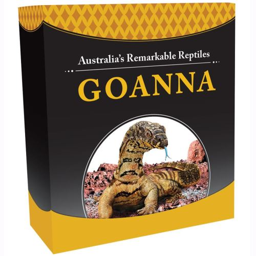 Thumbnail for 2016 Tuvalu 1oz Coloured Silver Proof Coin Australia's Remarkable Reptiles - Goanna