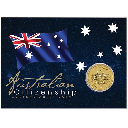 Thumbnail for 2016 Australian Citizenship Uncirculated Dollar