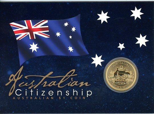 Thumbnail for 2017 Australian Citizenship Uncirculated Dollar