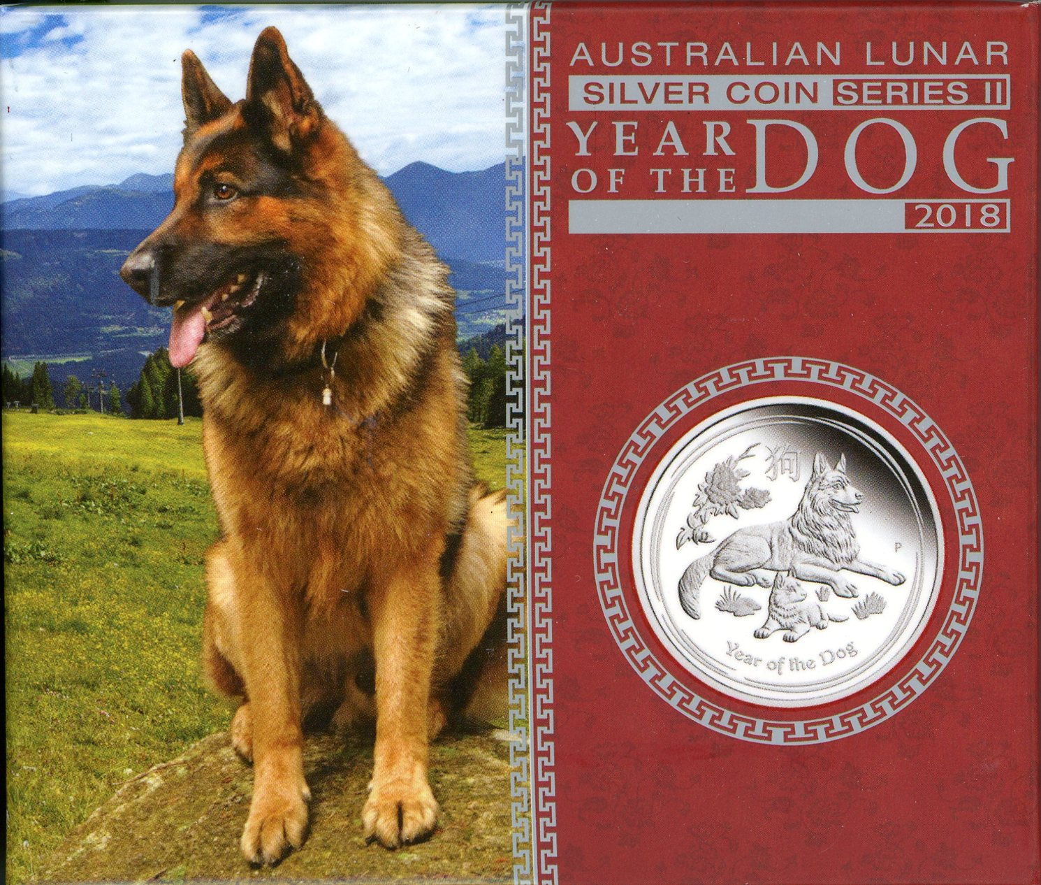 Thumbnail for 2018 Australian Half oz Silver Proof - Year of the Dog