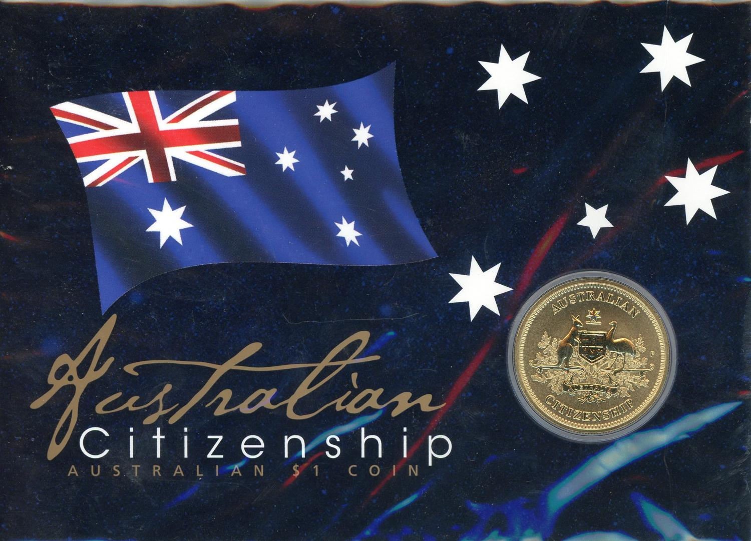 Thumbnail for 2018 Australian $1 Coin - Australian Citizenship P Mintmark
