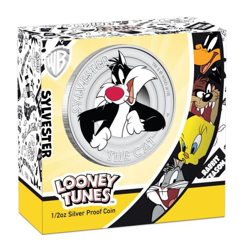 Thumbnail for 2018 Looney Tunes Half oz Silver Proof Coin - Sylvester