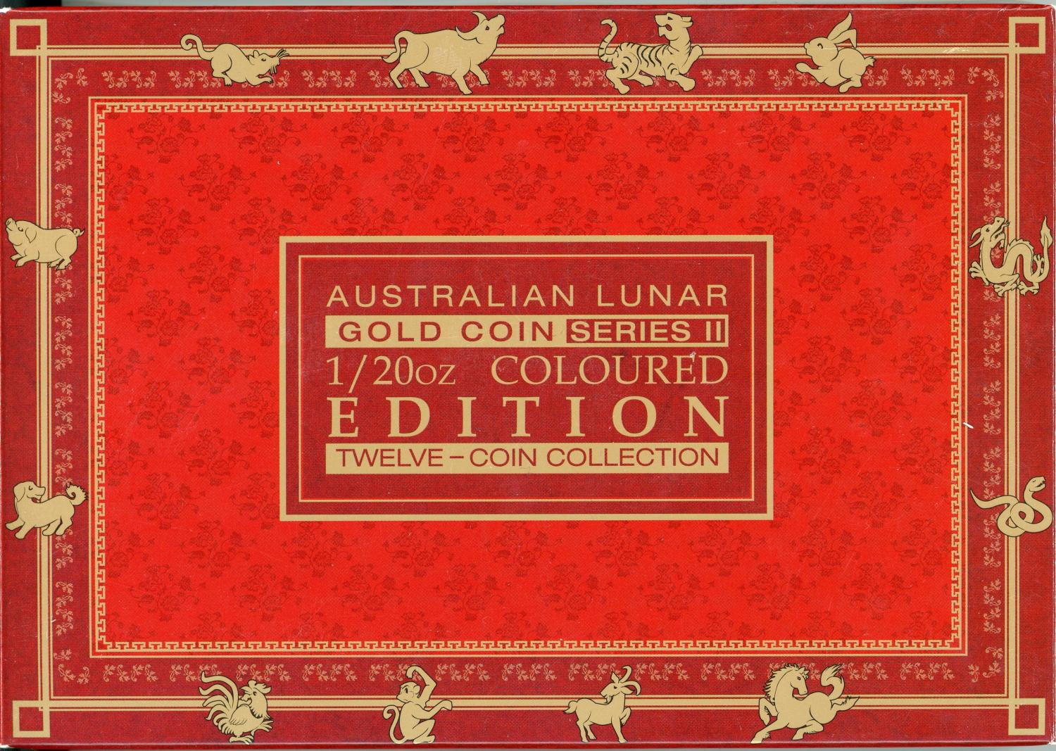Thumbnail for 2008-2019 Coloured One Twentieth oz Gold Coin Collection