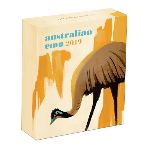 Thumbnail for 2019 1oz Silver Proof Coin - Australian Emu