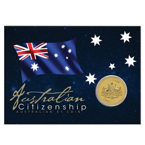 Thumbnail for 2019 $1 Australian Citizenship Coin on Card
