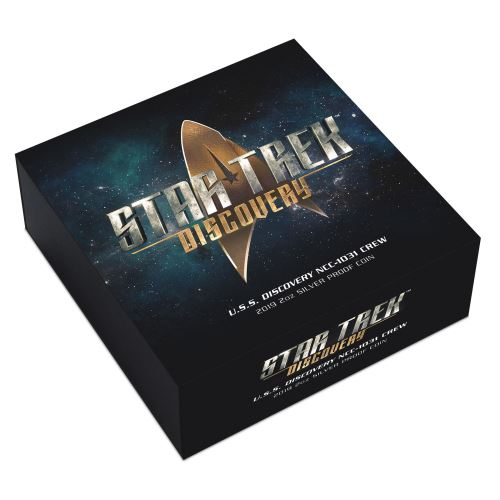 Thumbnail for 2019 Star Trek Discovery Crew 2oz Coloured Silver Proof Coin