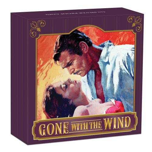 Thumbnail for 2019 Gone With The Wind 80th Anniversary 1oz Silver Proof Coin