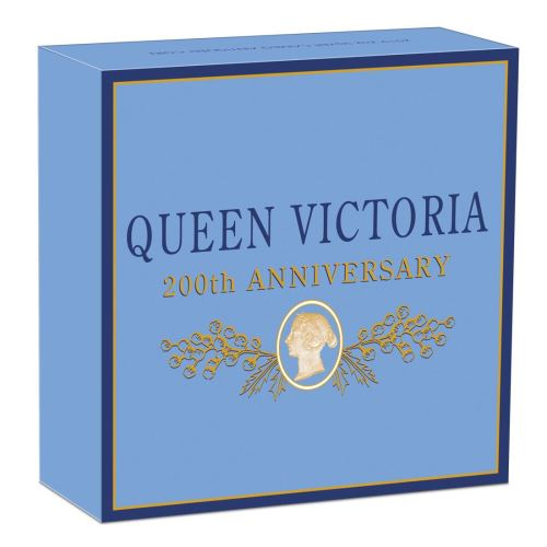 Thumbnail for 2019 Queen Victoria 200th Anniversary 2oz Silver Antiqued Cameo Coin