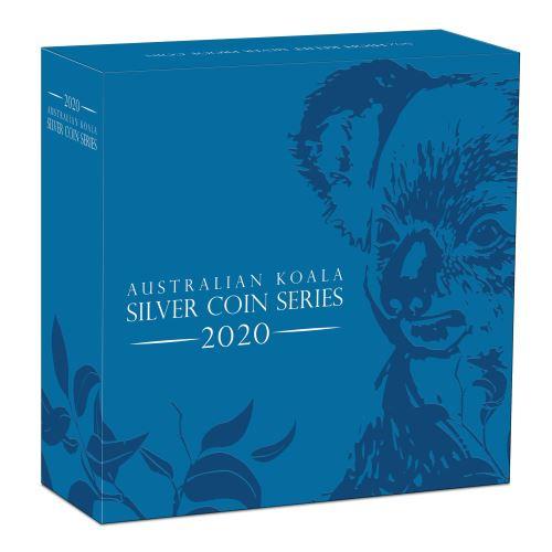 Thumbnail for 2020 Australian High Relief Five oz Silver Koala Proof Coin