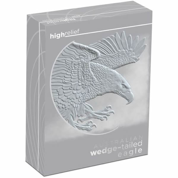 Thumbnail for 2020 Australian 1oz Silver Wedge-Tailed Eagle High Relief