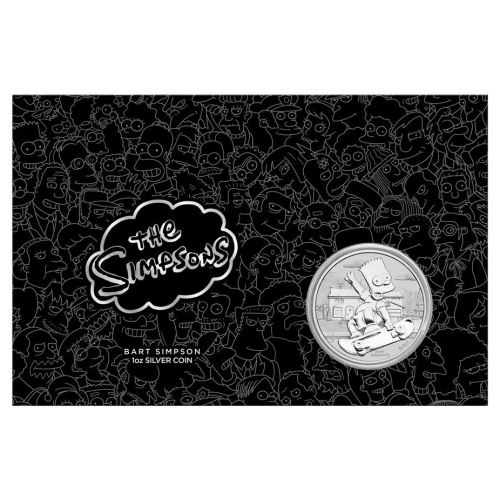Thumbnail for 2020 Tuvalu 1oz Silver Proof Coin - Bart Simpson