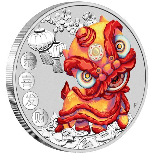 Thumbnail for 2020 Chinese New Year 1oz Silver Coin