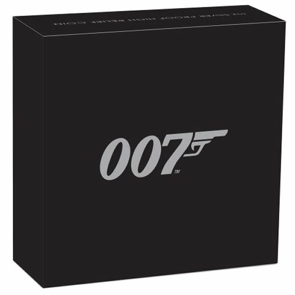 Thumbnail for 2020 1oz James Bond 007 Silver Proof Coin