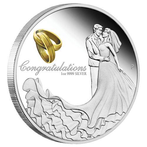 Thumbnail for 2020 Wedding 1oz Silver Coin