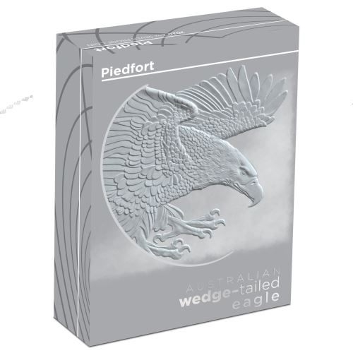 Thumbnail for 2020 Australian 2oz Wedge-Tailed Eagle Piedfort Proof Coin