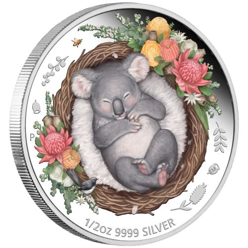 Thumbnail for 2021 Dreaming Down Under - Koala Half oz Silver Proof coin 50 cents