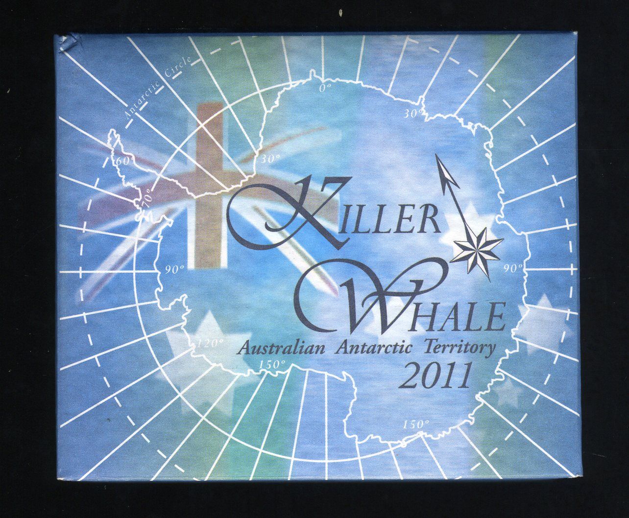 Thumbnail for 2011 Australian Antarctic Territory 1oz Silver Proof Coin - Killer Whale