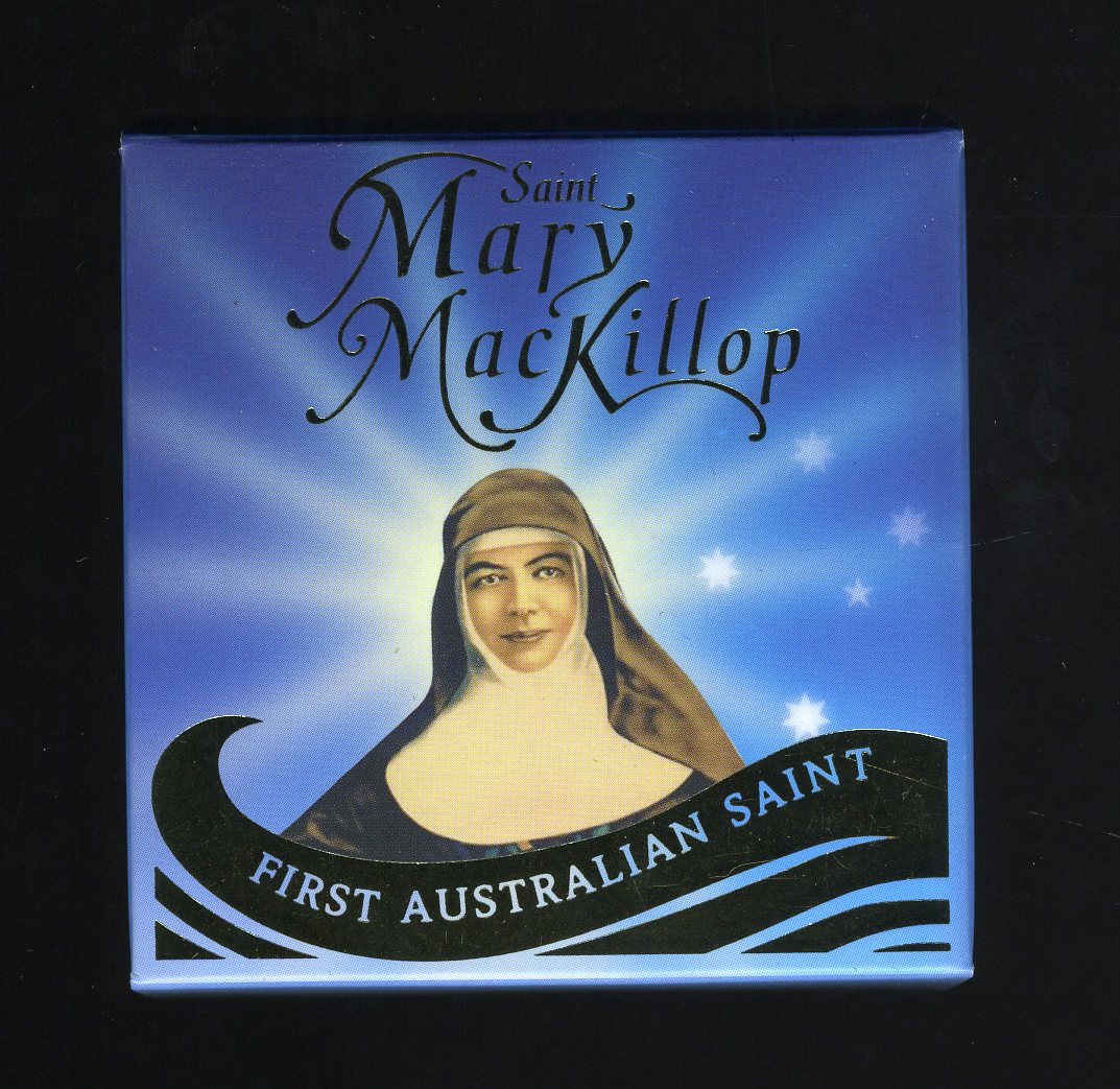 Thumbnail for 2010 Australian Saint Mary Mackillop One Tenth oz Coloured Gold Proof Coin