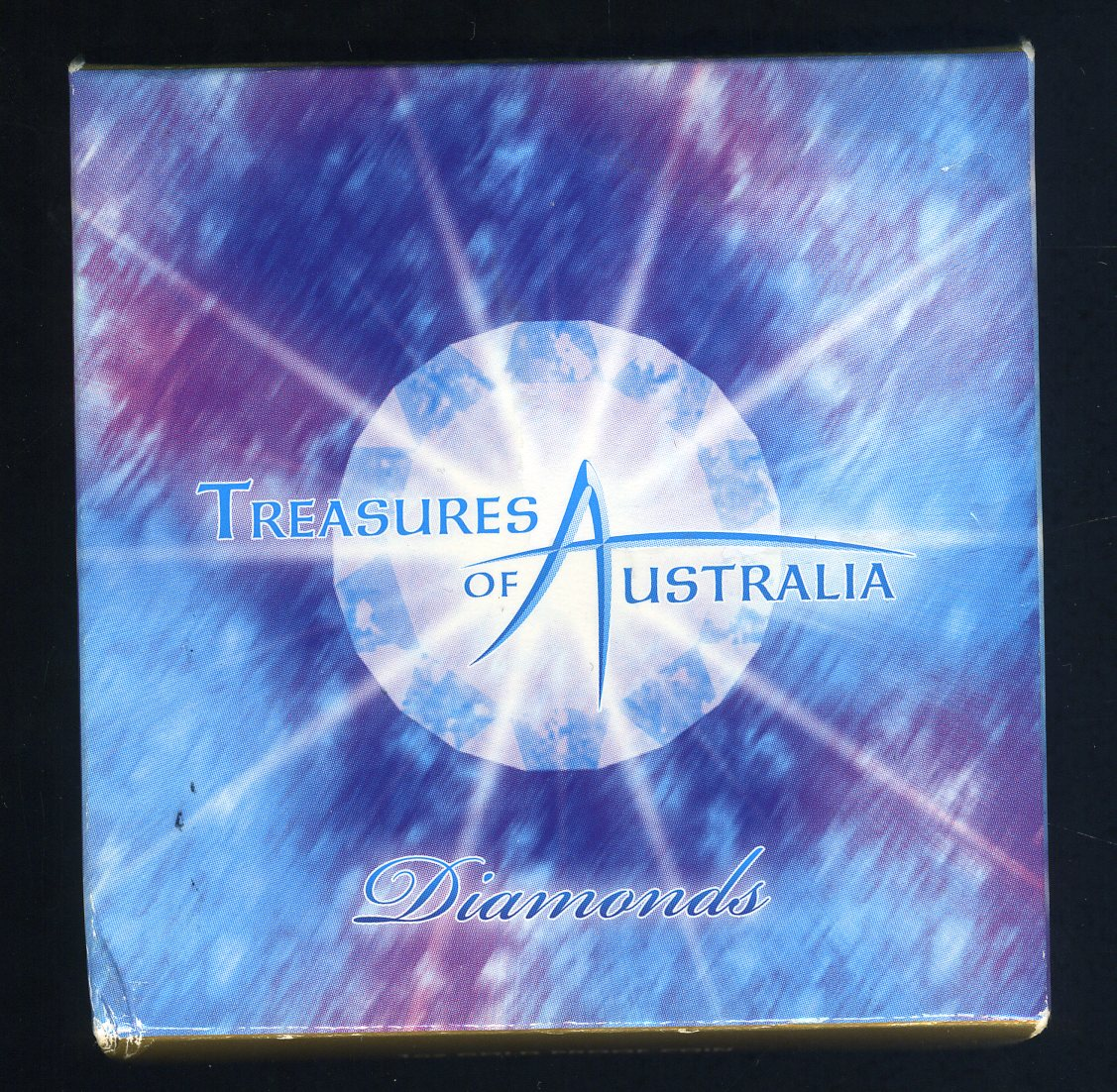 Thumbnail for 2009 Treasures of Australia 1oz Silver Locket Coin - Diamonds