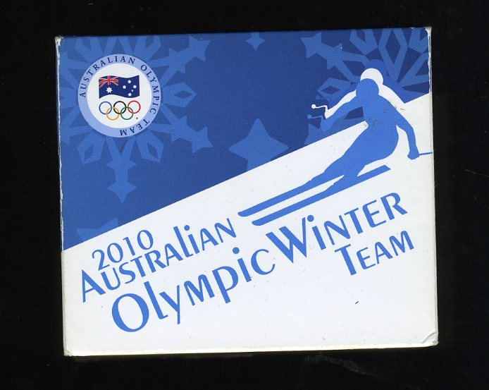 Thumbnail for 2010 Australian Olympic Winter Team 1oz Coloured Silver Proof