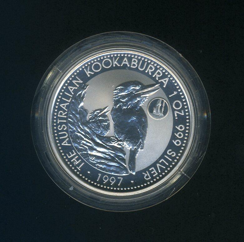 Thumbnail for 1997 1oz Kookaburra European Country Privy Mark Series - Portugal