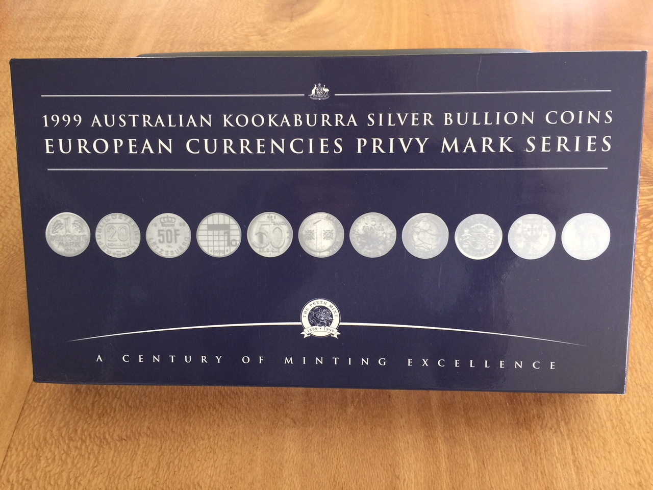 Thumbnail for 1999 Australian Kookaburra Silver Bullion Coins - European Currencies Privy Mark