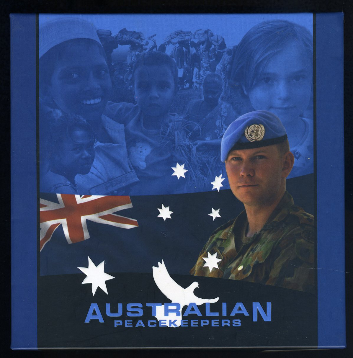 Thumbnail for 2005 Australian Peacekeepers 5 x Two Ounce Coloured Silver Proof Set