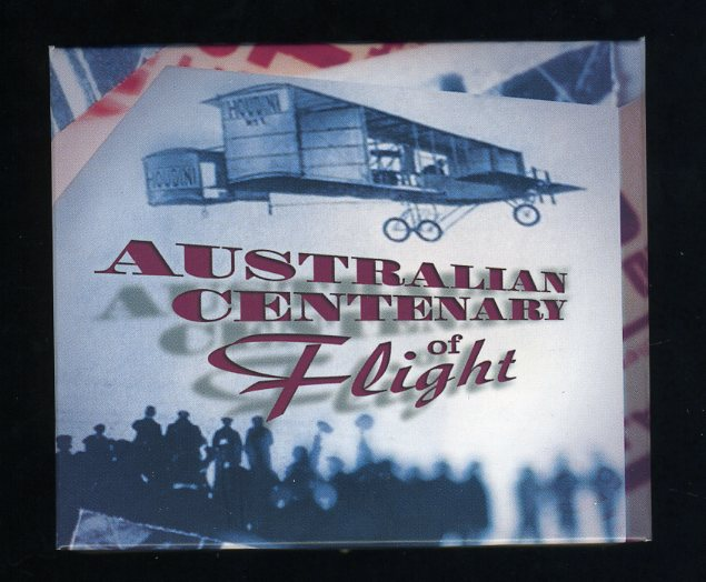 Thumbnail for 2010 1oz Coloured Silver Proof Coin - Australian Centenary of Flight