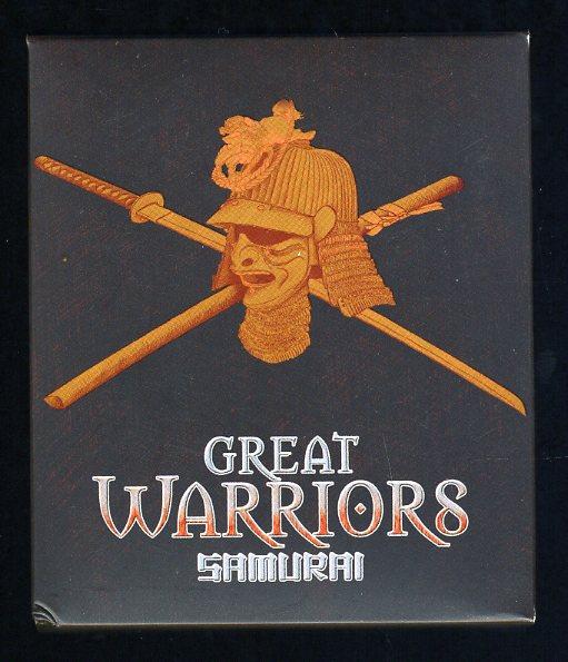 Thumbnail for 2010 Tuvalu 1oz Coloured Silver Proof - Great Warriors Samarai