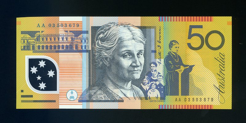 Thumbnail for 2003 First Prefix AA03 503679 - Uncirculated