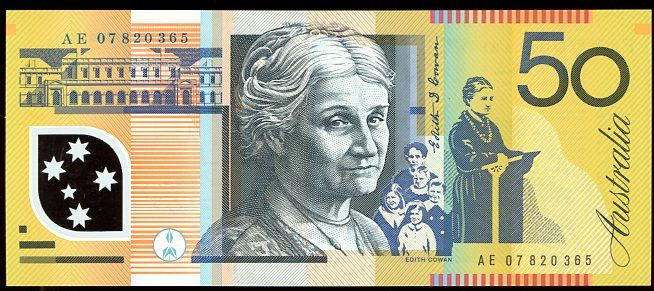 Thumbnail for 2007 $50 Polymer AE07 820365 UNC