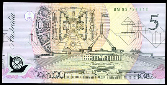 Thumbnail for 1993 $5 Uncirculated BM93 798913