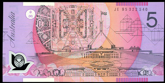 Thumbnail for 1995 $5 Uncirculated JE95 322540