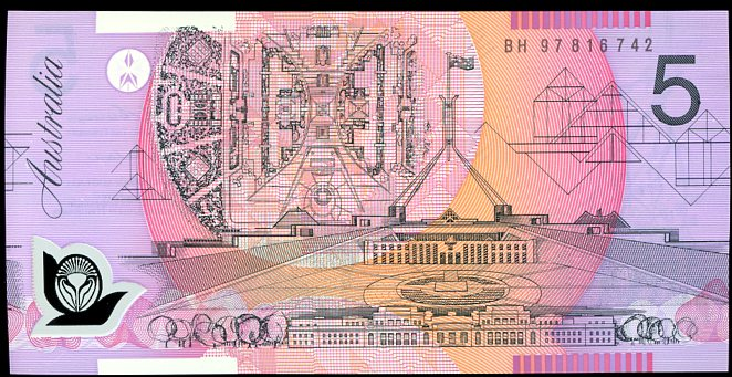 Thumbnail for 1997 $5 Uncirculated BH97 816742 UNC