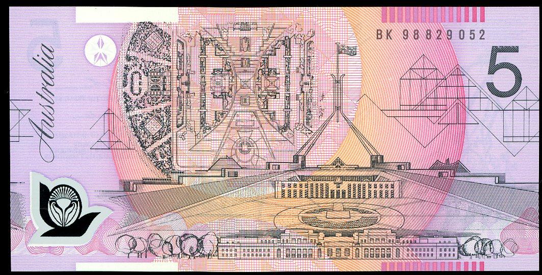 Thumbnail for 1998 $5 BK98 829052 UNC