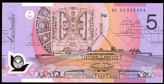 Thumbnail for 2005 Last Prefix KC05 939984 UNC