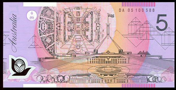 Thumbnail for 2005 $5 DA05 100588 UNC