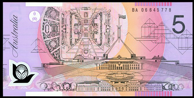 Thumbnail for 2006 $5 First Prefix BA06 645778 UNC